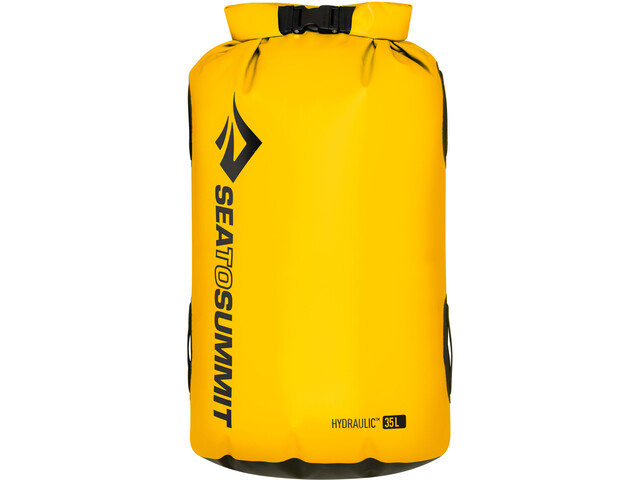 Sea to Summit Hydraulic Bolsa seca con Arnés 35l, yellow
